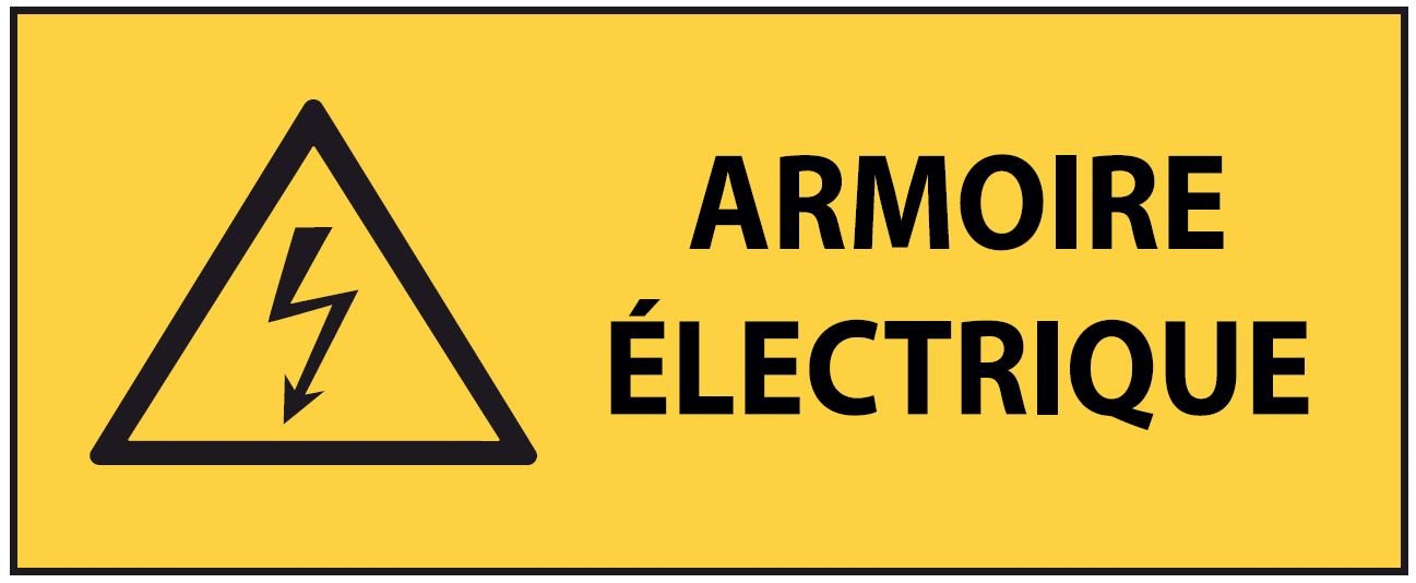 Panneau Pvc Armoire Electrique 200 X 80 Mm