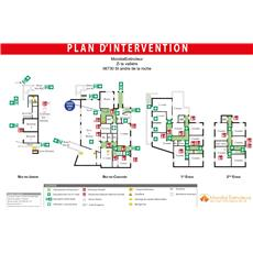 Plan d'intervention PVC Format A0